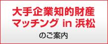 「大手企業知的財産マッチングin浜松」のご案内
